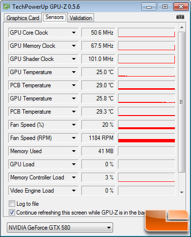 ASUS Matrix GTX 580 Platinum Test Settings