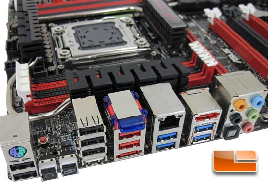 ASUS Rampage 4 Extreme Intel X79 Motherboard Layout and Features