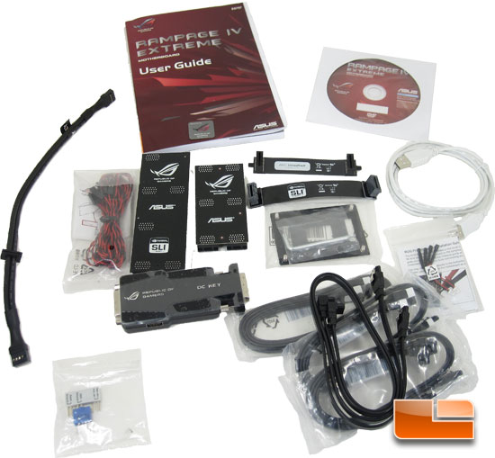 ASUS Rampage 4 Extreme Intel X79 Motherboard Retail Packaging and Bundle
