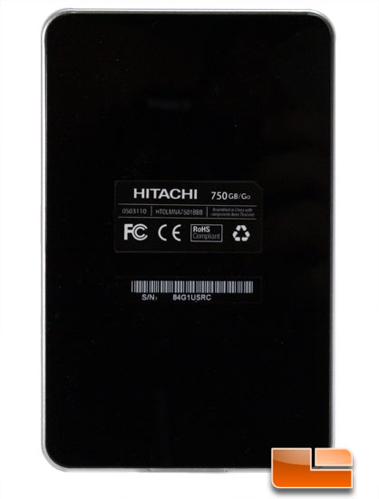 Hitachi Touro Mobile Pro back