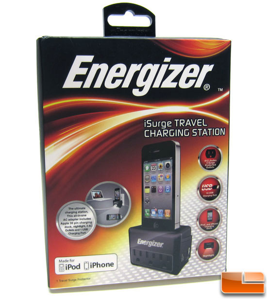 Energizer iSurge Travel Charging Station Review