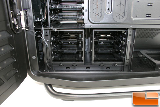 Cosmos II lower HDD cages