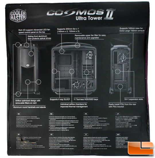 Cosmos II box back