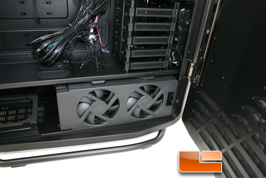 Cosmos II lower fans