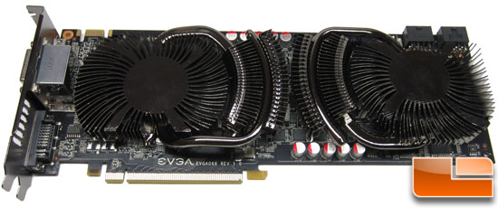 EVGA GeForce GTX 560 Ti 2Win 2GB Video Card Power Connectors