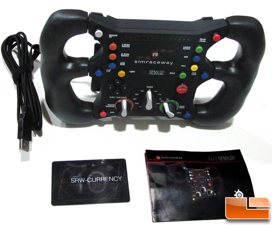 SteelSeries Simraceway SRW-S1 Box Contents