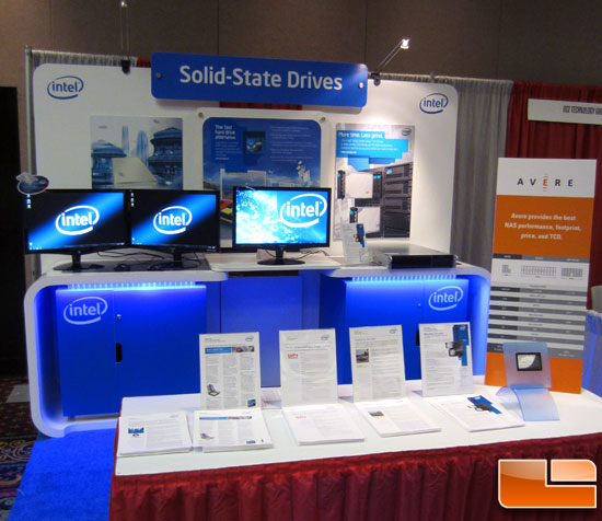 Intel Storage Visions Booth