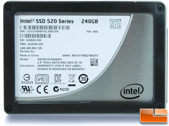 Intel 520 'Cherryville' Series 240GB SSD Review in RAID 0