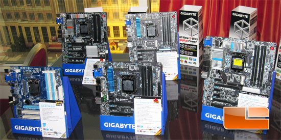 GIGABYTE Intel Z77 'Ivy Bridge' Motherboards