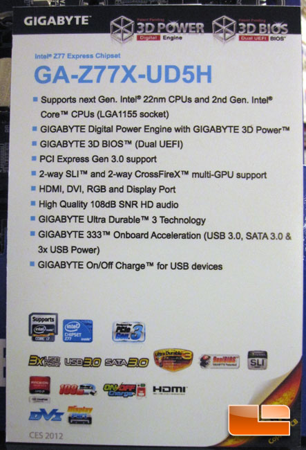 Intel Z77 Express Chipset