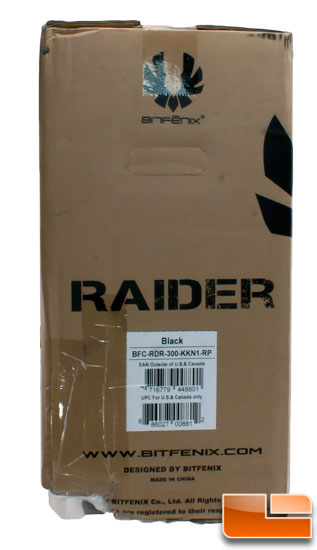Bitfenix Raider box left