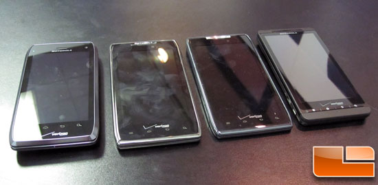 CES 2012: Motorola – Droid 4, Droid Razr Max, and Xyboards