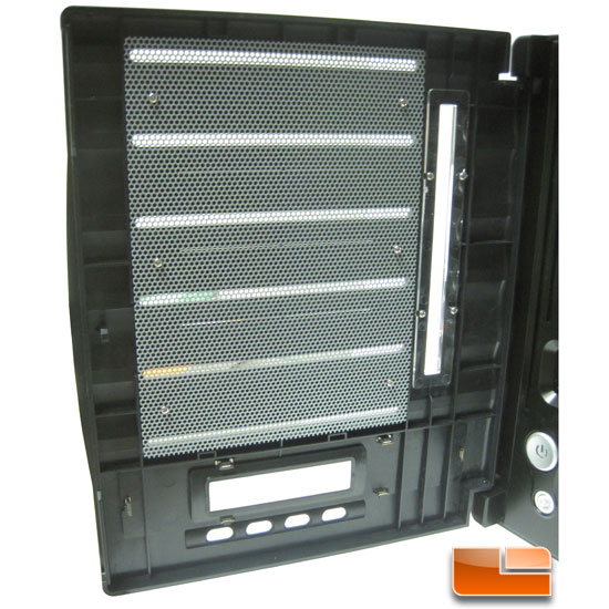 Thecus N5500 5 bay NAS bay door