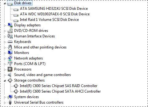 ECS X79R-AX Device Manager