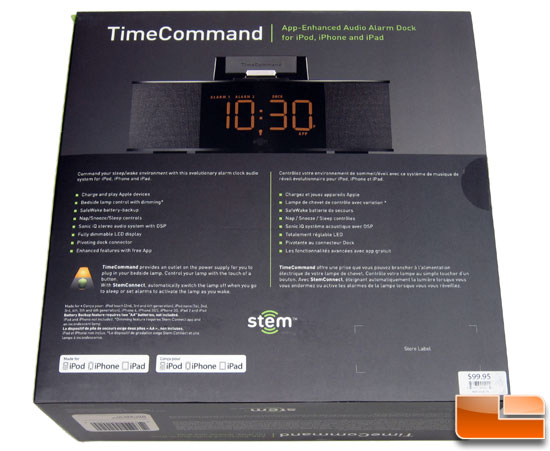 Stem Time Command Box Back