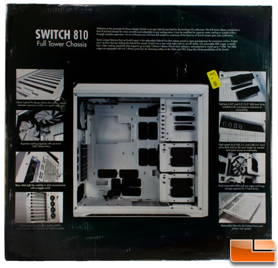 NZXT Switch 810 Box back