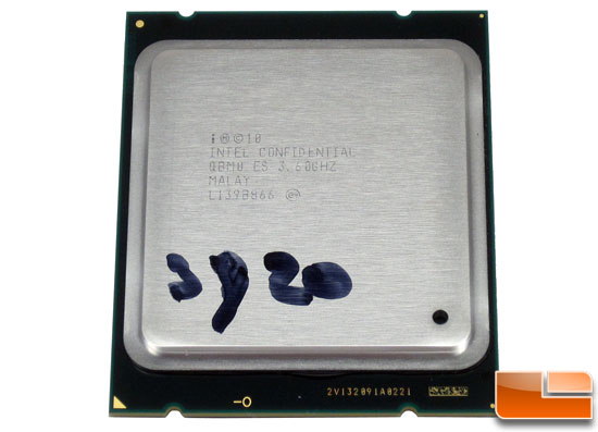 Intel Core i7-3820 Sandy Bridge-E CPU