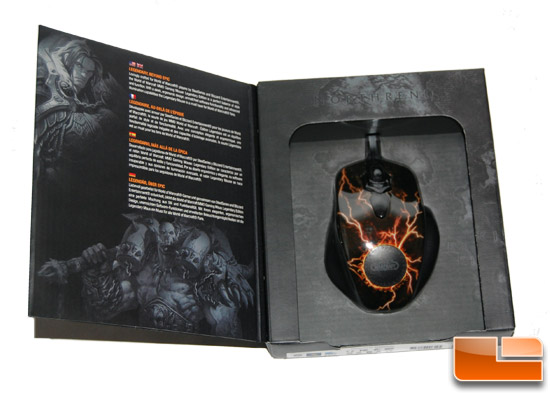 SteelSeries WoW MMO Gaming Mouse Box