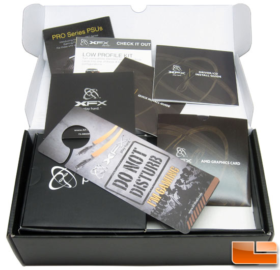XFX R7950 Black Edition Card Retail Box