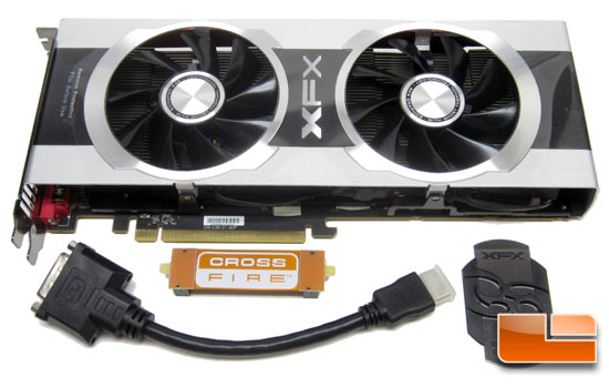 XFX R7950 Black Edition Card Bundle