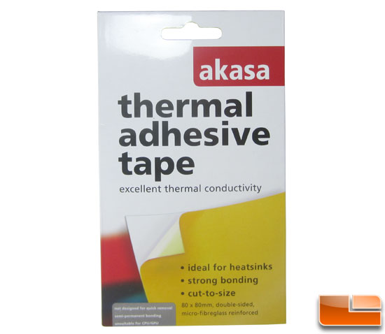 Deepcool Gamer Storm Dracula Akasa Thermal tape