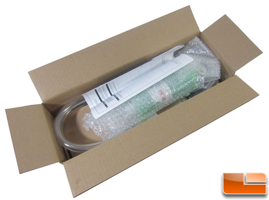Swiftech H20-220 Edge HD liquid cooling kit opening the box