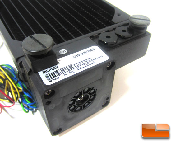 Swiftech H20-220 Edge HD liquid cooling kit pump