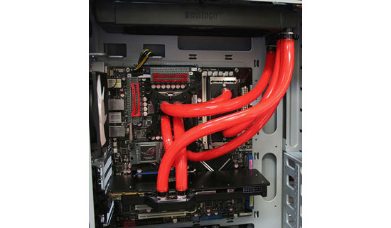 Swiftech H20-220 Edge HD liquid cooling kit parrellel loops