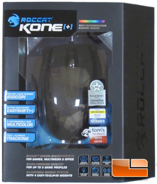 Roccat Kone[+] Gaming Mouse Review