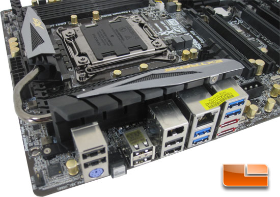 ASRock X79 Extreme9 Motherboard Layout