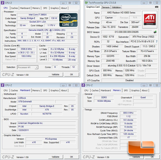 ASRock Extreme 9 Intel X79 System Settings