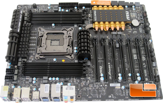 MSI Big Bang XPower II Motherbaord Layout