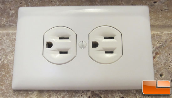 Standard 15-Amp Power Outlet