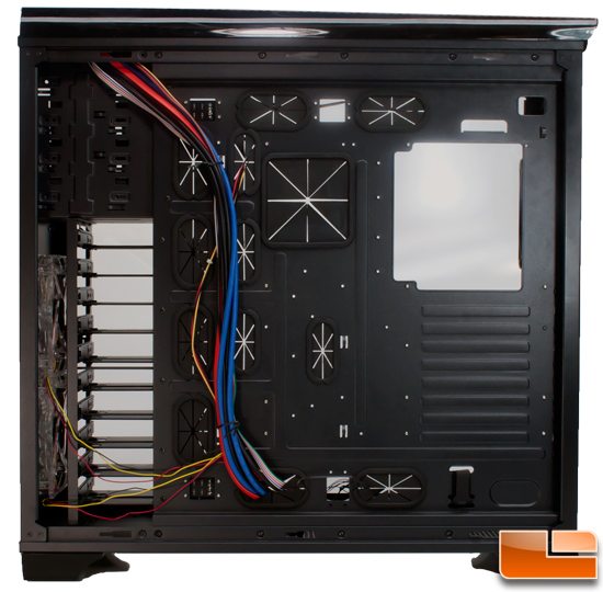 Blackhawk Ultra behind motherboard