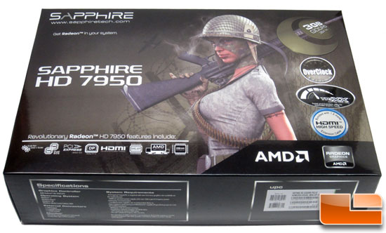 Sapphire Radeon HD 7950 Retail Box