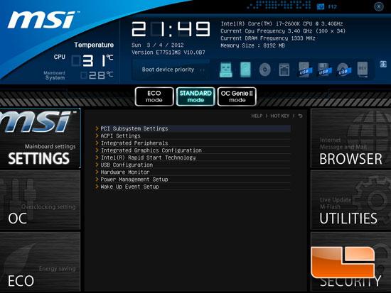 MSI Z77A-GD65 Motherboard Preview - Intel Z77 w/ Sandy Bridge - Page