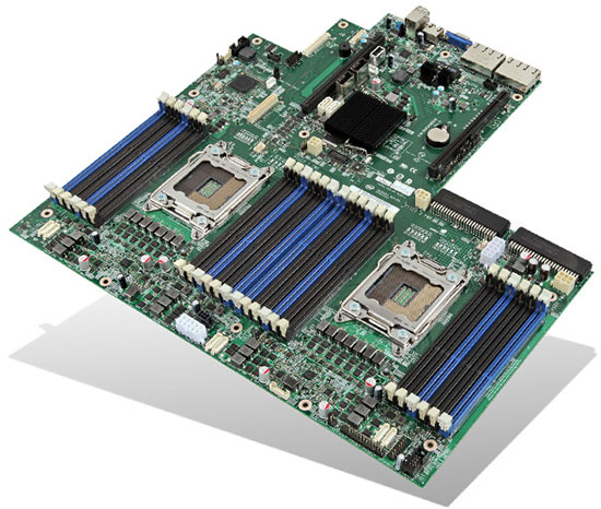 Intel Grizly Pass S2600GZ Motherboard