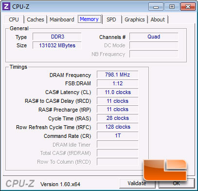 Intel Sandy Bridge EP E5-2660 CPUz