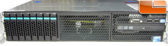 Intel R2000GZ Server - Front