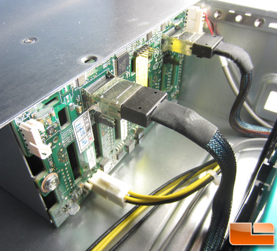Intel R2000GZ 'Grizzly Pass' Drive Cage Backplane