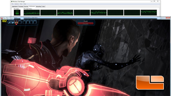 Mass Effect 3 Intel Core i7 2600K CPU Usage