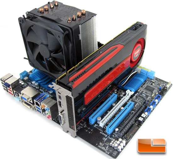 AMD Radeon HD 7950 Test System