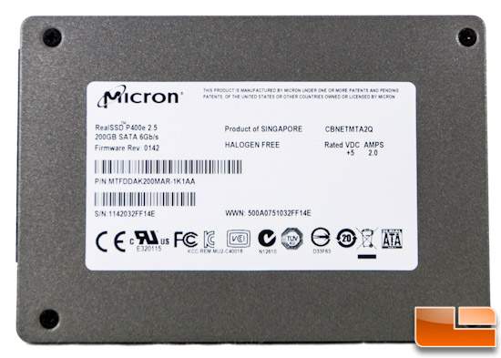 Micron realssd p400e 200gb enterprise sata iii ssd review for Domon sata 3 64gb
