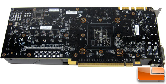 NVIDIA GeForce GTX 680 Video Card Back