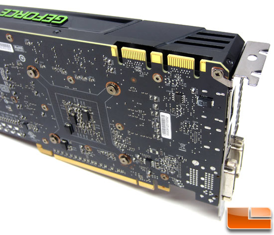 NVIDIA GeForce GTX 680 Video Card SLI Connector