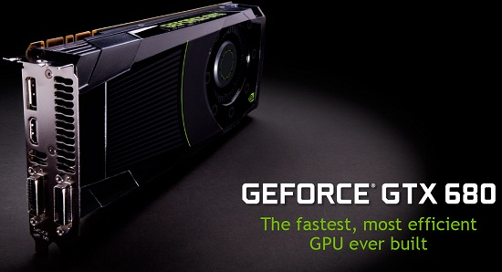 GeForce GTX 680 Video Card