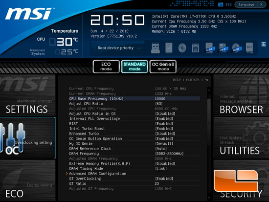 MSI Z77A-GD65 Click BIOS