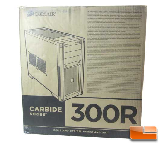 Corsair Carbide 300R box front