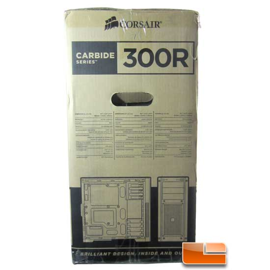 Corsair Carbide 300R box left