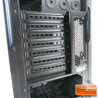 Corsair Carbide 300R expansion slots